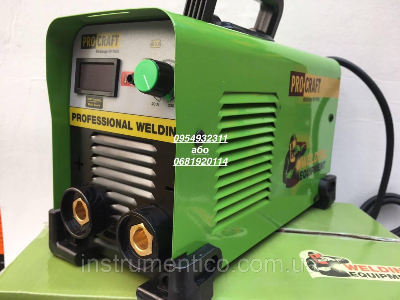Инверторный сварочный аппарат Procraft SP-330D