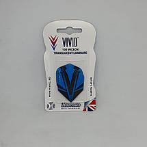 Оперение для дротиков дартс Vivid Harrows 6 штук, фото 3