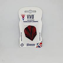 Оперение для дротиков дартс Vivid Harrows 6 штук, фото 2