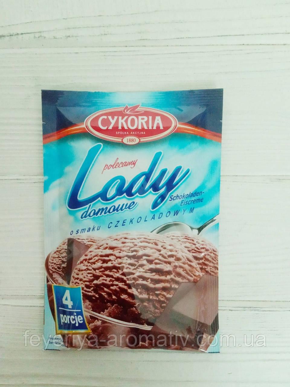 Cykoria Lody домашнее сухое мороженое шоколад 60 г.