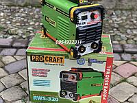 Инверторный сварочный аппарат, сварка Procraft RWS-320 инвертор, фото 1