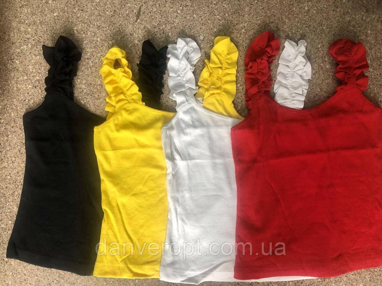 Майка женская стильная размер универсальный 42-46 купить оптом со склада 7км Одесса