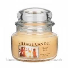 Ароматическая свеча Village Candle Пляжная вечеринка (время горения до 55 ч), фото 2