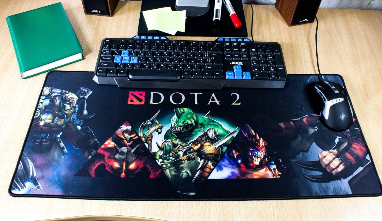 Компьютерный игровой коврик для мышки игровая поверхность Logilily DOTA D-700-1