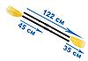 Весла пластиковые для лодок Intex 59623, фото 3