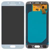 Дисплейный модуль для Samsung Galaxy J5 (2017) J530 серебристый (GH97-20738B) Оригинал