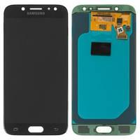 Дисплейный модуль для Samsung J530 Galaxy J5 (2017) черный (GH97-20738A) Оригинал