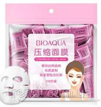 Прессованные маски-основы для лица Bioaqua