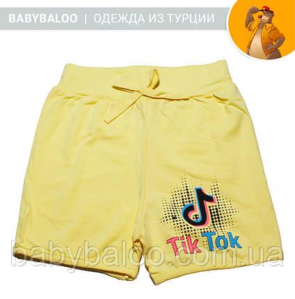"""Шорты для девочки """"Tik-tok"""" горошки (от 5 до 8 лет), фото 2"""