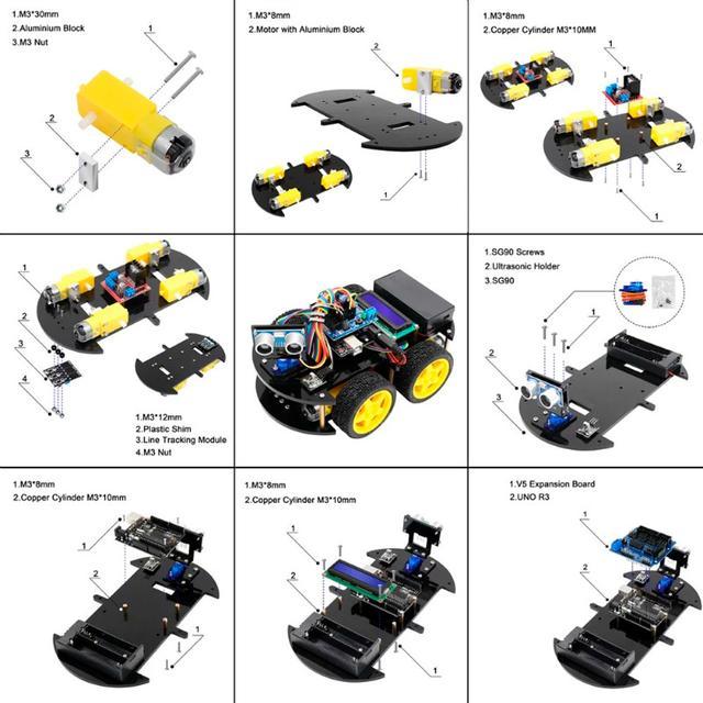 Arduino сборка автомобиля