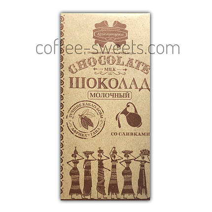 """Шоколад """"Комунарка"""" 85 г молочний з вершками, фото 2"""