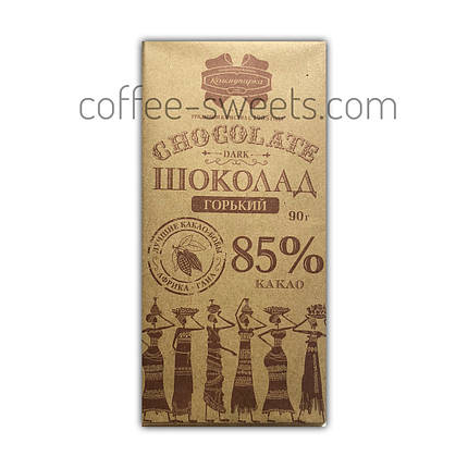 "Шоколад ""Коммунарка"" 90г горький 85%, фото 2"