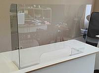 Защитная стойка для офиса 700*600 мм, толщина акрила 4 мм