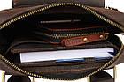 Сумка с ручкой мужская кожаная SULLIVAN smvp144(39) коричневая, фото 7