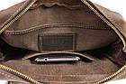 Сумка с ручкой мужская кожаная SULLIVAN smvp144(39) коричневая, фото 8