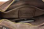 Сумка мужская кожаная на плечо SULLIVAN smvp145(46) коричневая, фото 7