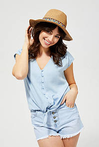 Соломенная шляпа женская MOODO L-CZ-3100 BEIGE