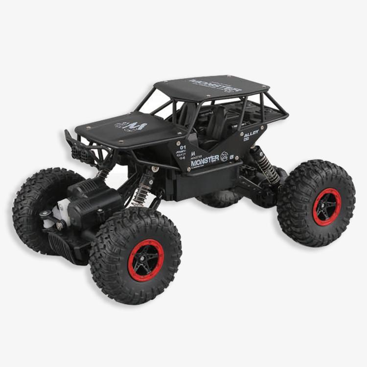 Краулер Крутой внедорожник 4x4 игрушечная машина с пультом управления 2.4GHZ . RC CAR G03061 Салатневая