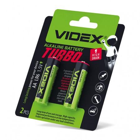 Батарейки Videx LR6/AA Turbo 20 шт (Videx LR6/AA)