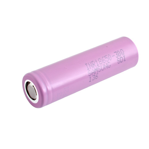 Аккумулятор Samsung 18650 30Q 3000 mAh 3.7V Розовый (30-4239)