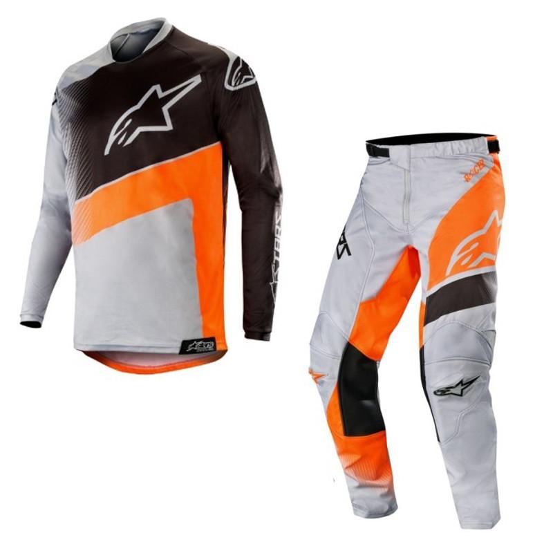 Джерси штаны Alpinestars Racer Supermatic Gray Orange L(p)