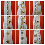 Брендовые женские браслеты кольца, браслеты с подвесками и логотипами. Бижутерия оптом RRR в Украине.