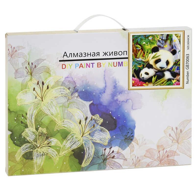 Алмазная мозаика GB 70063 (30) 40х30 см., 27 цветов, в коробке