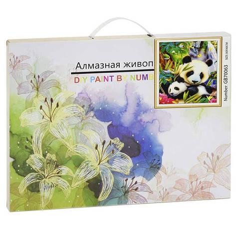 Алмазная мозаика GB 70063 (30) 40х30 см., 27 цветов, в коробке , фото 2
