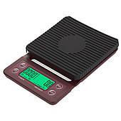Кофейные весы BlackBrew Drip Scale на 3 кг с таймером