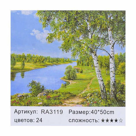 Картина по номерам RA 3119 (30) 40х50см, фото 2