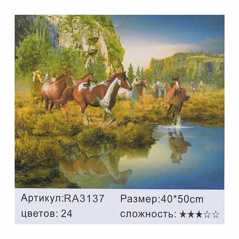 Картина по номерам RA 3137 (30) 40х50см, фото 2