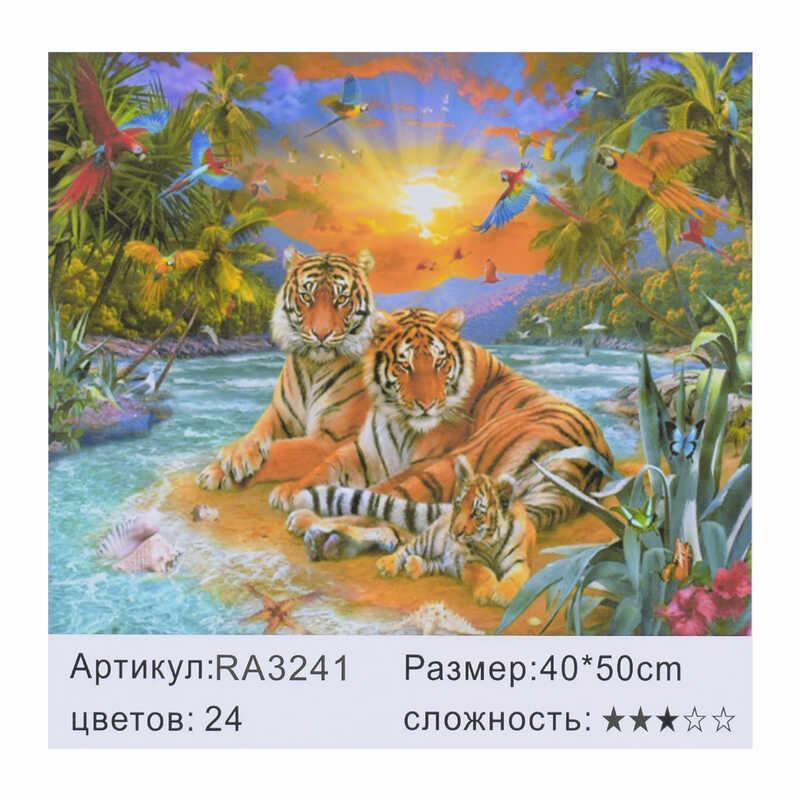 Картина по номерам RA 3241 (30) 40х50см