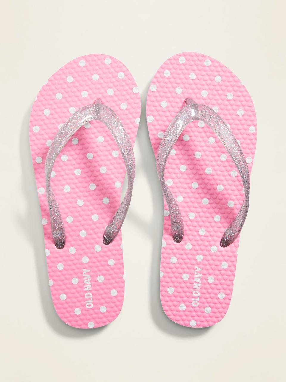 Детские вьетнамки (Flip-flop) Олд Неви для девочки