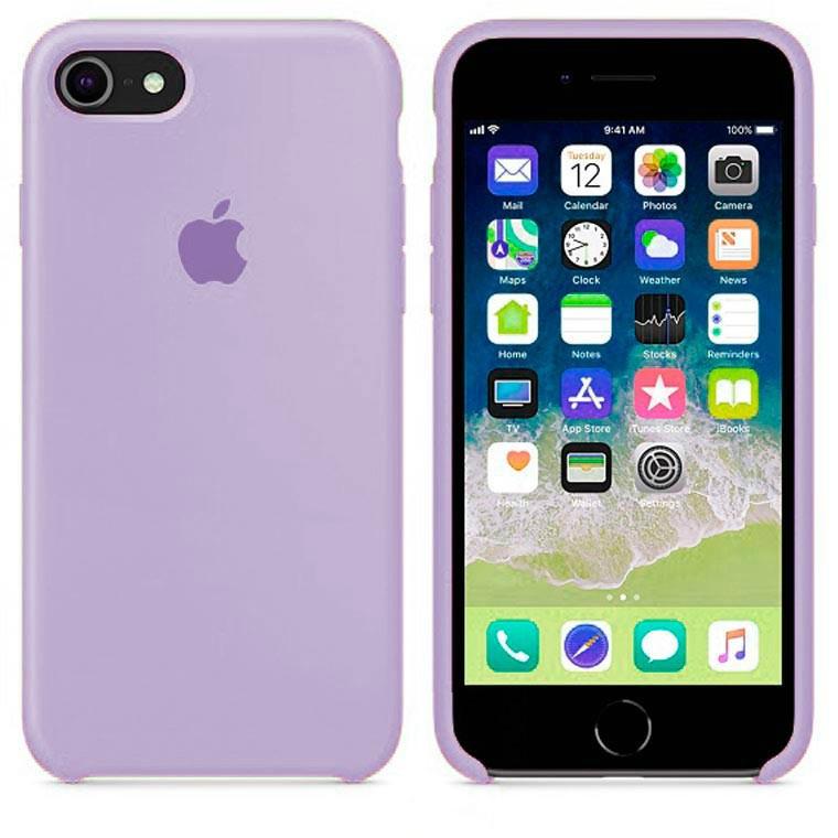 Чехол Apple Silicone Case Apple iPhone 7 Plus, iPhone 8 Plus Сиреневый