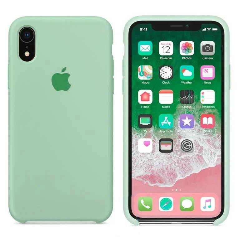 Чехол Silicone Case Apple iPhone XR Светло - Бирюзовый
