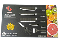 Набор ножей из нержавеющей стали 6 предметов 0238