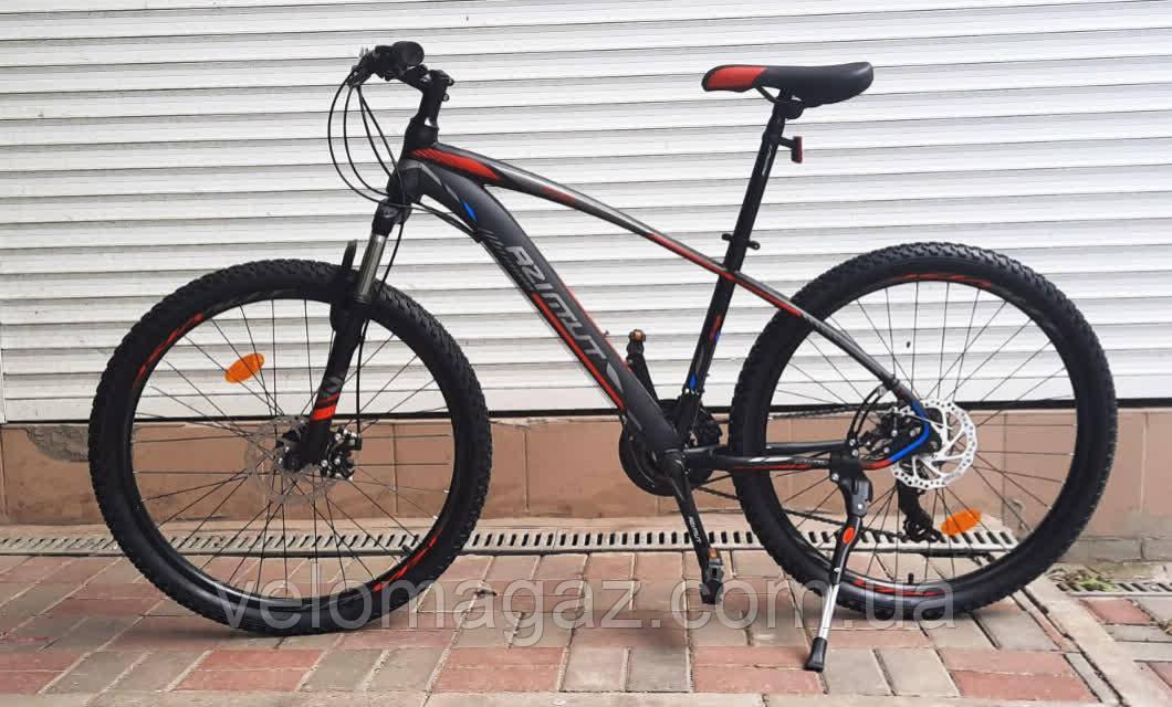 """Велосипед гірський Azimut """"NEVADA"""" GFRD 26"""" рама 15,5"""" чорно-червоний, 2020 р."""