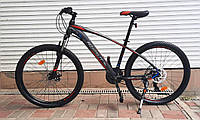 """Велосипед гірський Azimut """"NEVADA"""" GFRD 26"""" рама 15,5"""" чорно-червоний, 2020 р., фото 1"""