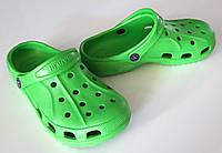 Кроксы Sanlin 36-41 зеленые