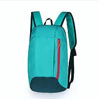 Рюкзак под бренд зеленый  - 10 L (№ 101)