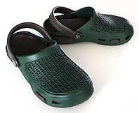 Кроксы детские Sanlin 30-35 зеленые
