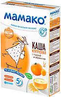 Каша молочная кукурузная с тыквой и абрикосом на козьем молоке 5м+ 200г Мамако 1105404