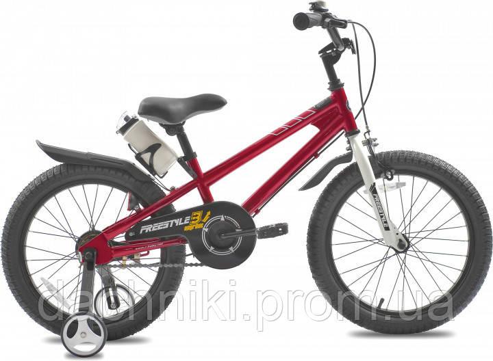 """Детский велосипед RoyalBaby Freestyle 18"""" 10"""" Красный (04243)"""