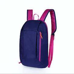 Рюкзак под бренд фиолетово-розовый  - 10 L (№ 103)