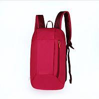 Рюкзак под бренд малиновый  - 10 L (№ 104)