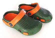 Крокси дитячі Sanlin 24-29 зелені
