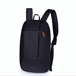 Рюкзак под бренд черный  - 10 L (№ 105)