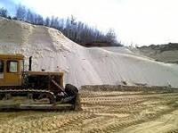 Песок белый карьерный