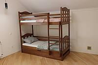 Ліжко двоярусне з підйомним механізмом Сонька, фото 1