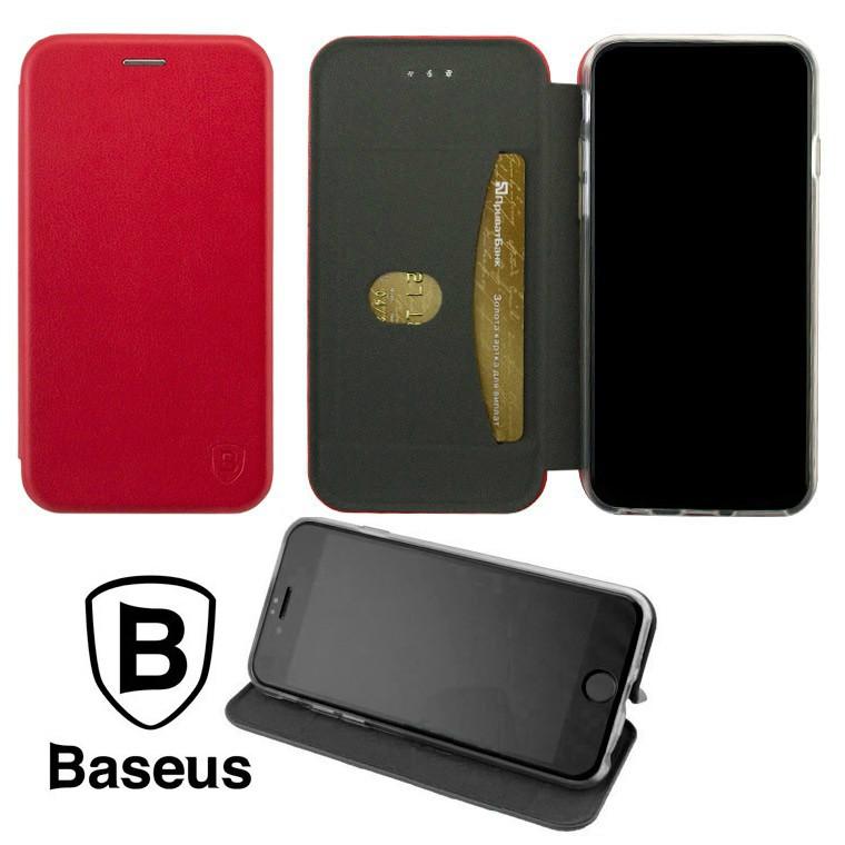 Чехол-книжка Baseus Premium Edge Samsung J6 Plus 2018 J610 Red